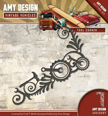 Amy Design - Die - Vintage Vehicles - Tool Corner