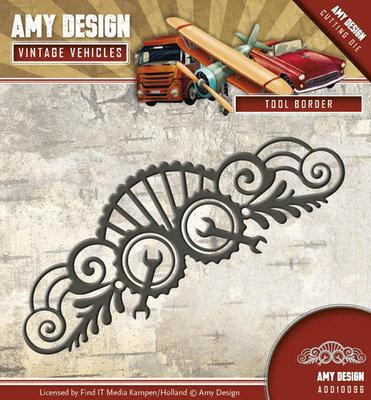 Amy Design - Die - Vintage Vehicles - Tool Border