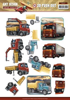 SB10153 Stansvel Amy Design Vintage Vehicles -trucks