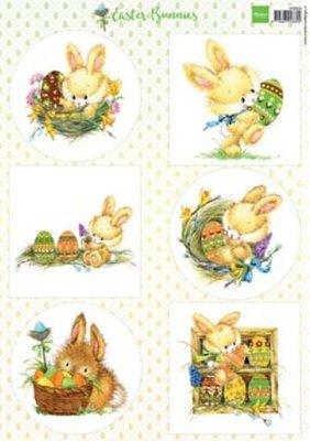 VK9555 Knipvel Easter bunny Marianne Design