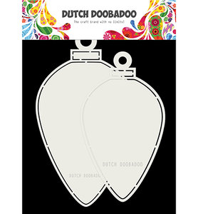 470.713.730 Dutch Doobadoo Card Art Christmas baubles oval