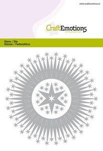 115633-0519 CraftEmotions Die - border rond magic stars