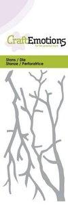 115633-0152 CraftEmotions Die - takken Card 5x10cm