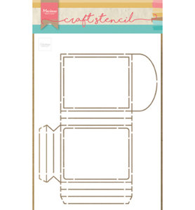 PS8043 Craft stencil Party Pocket