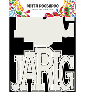 470.713.731 Dutch Doobadoo Card Art Jarig