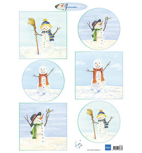 IT613 Knipvel Tiny's Snowmen