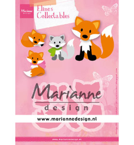 COL1474 Collectables Eline's Cute Fox