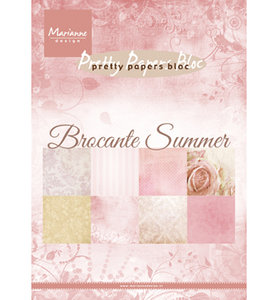 PK9166 Pretty Papers Bloc Brocante Summer