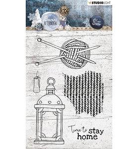 STAMPSA398  Stamp, Snowy Afternoon nr.398