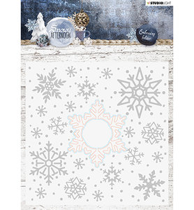 EMBSA02 - Cutting and Embossing Die Cut , Snowy Afternoon nr.02