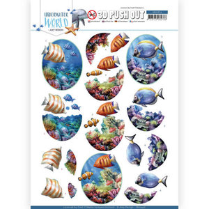 SB10456 3D Push Out - Amy Design - Underwater World - Saltwater Fish