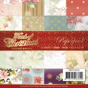 PMPP10028 Paperpack - Precious Marieke - Touch of Christmas