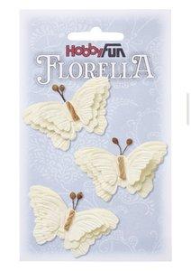 Florella papieren vlinders creme 3866092