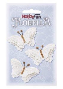 Florella papieren vlinder wit 3866091