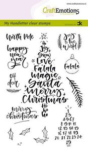 130501-1818 CraftEmotions clearstamps A6 - handletter - Christmas 1 (Eng) Carla Kamphuis