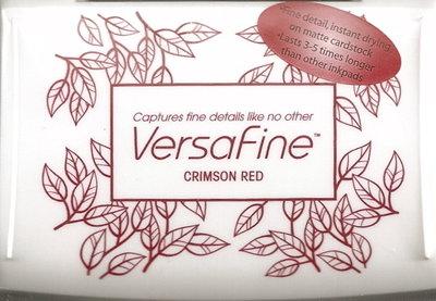 Versafine stempelinkt Crimson Red