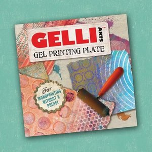 Gelli Arts - Gel Printing Plate 15.4x15.4cm GEL6X6