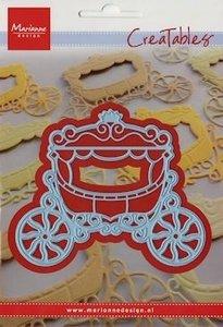 Creatables snijmal Princess carriage