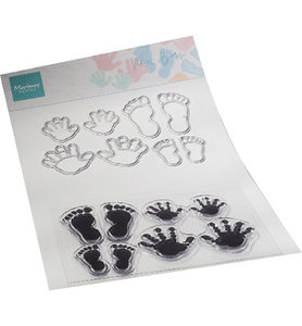 CS1085 Clearstamps and dies New born