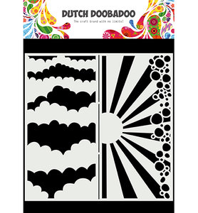 470.784.002 Dutch Mask Art Slimline Clouds