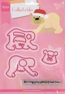 COL1370 Collectables snijmal Eline's Polar Bear
