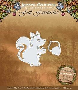 YCD10010 Snijmal Fall Favourites Eekhoorn