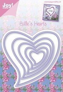snijmal Bille's hearts