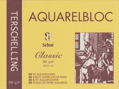 21045 Terschelling Aquarelblok Classic 18x24 cm