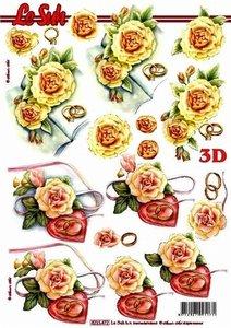 8215472 3D knipvel Nouvelle huwelijk