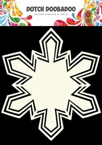 470.713.115 Dutch Doobadoo Shape Art Snowflake