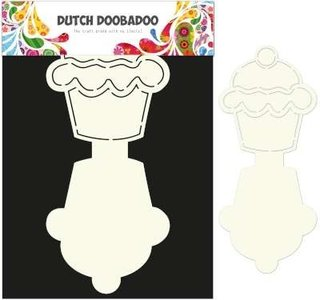 470.713.503 Dutch Card Art stencil Cupcake
