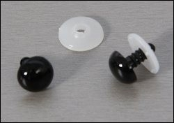 4809908 Veiligheidsogen 8 mm zwart