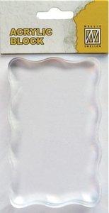 AB005 Acrylblok Nellie snellen 8x5 cm