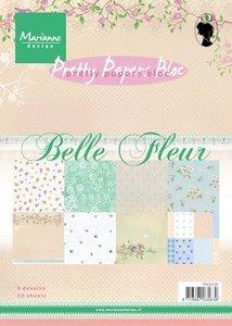 PK9105 Pretty Papers Bloc Belle Fleur