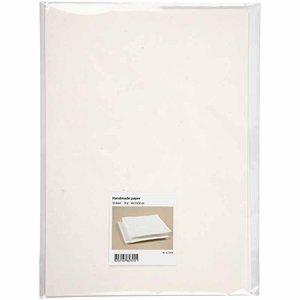 22036 A4 handgemaakt papier off white