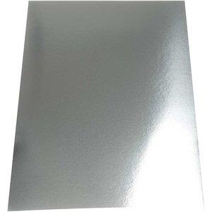 220780 Metallic karton zilver A4