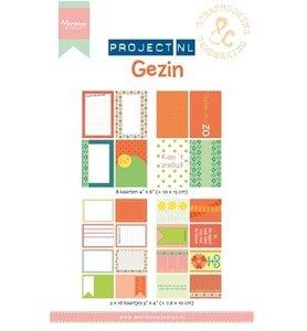 PL2502 Project NL Card Set - Gezin