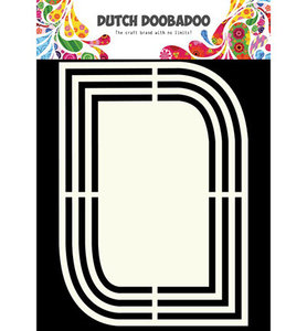 470.713.123  Dutch Doobadoo Shape Art Teardrop