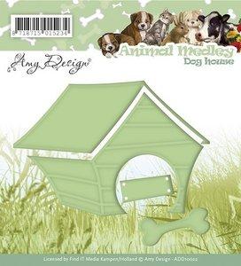 ADD10022 Snijmal Amy Design Animal Medley Dog House