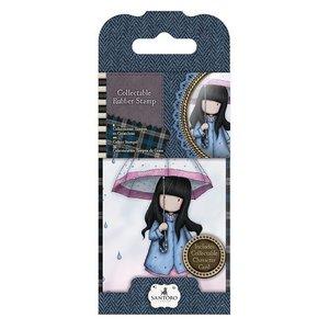 GOR 907316 Mini Rubber Stamp - Gorjuss - No. 16 Puddles of Love