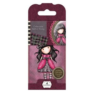 GOR 907305 Mini Rubber Stamp - Gorjuss - No. 5 Ladybird