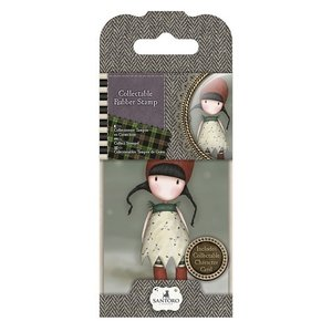 GOR 907319 Mini Rubber Stamp - Santoro - No. 19 Holly