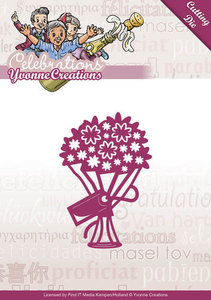 YCD10047 Snijmal Yvonne Creations Celebrations Bouquet