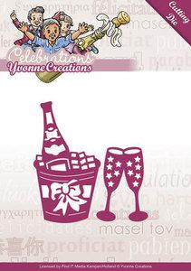 YCD10046 Snijmal Yvonne Creations Celebrations Champagne