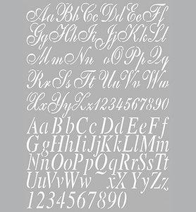 470.455.002 Dutch stencil alphabet 2