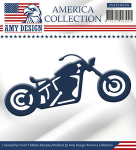 USAD10004 Snijmal Bike America Collection Amy Design