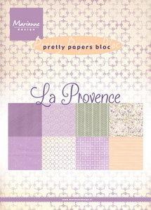 PK9132 Pretty Papers Bloc La Provence Marianne Design