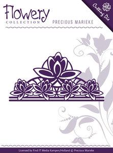 PM10062 Snijmal Flowery Fleur-de Lis Ornament Precious Marieke