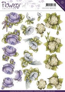 CD10667-HJ13401 Knipvel Floral Corner Flowery Precious Marieke