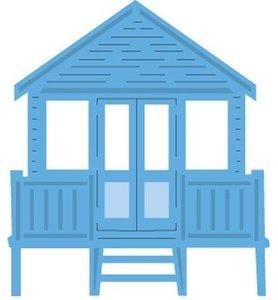 LR0422 Creatables snijmal Tiny's Beach House